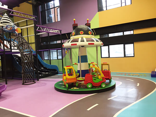 Commercial Amusement Park Indoor Playground Equipment with trampoline