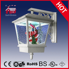 (LW40045D-W) White Wall Lamp with Snow Flakes and LED for Christmas