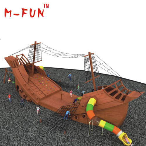 Boat Series Wooden Outdoor Playground