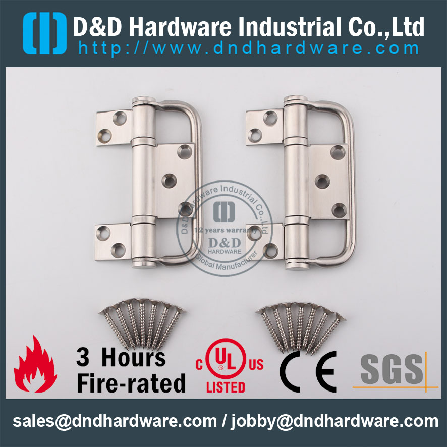 Stainless Steel 2 Ball Bearing Folding Hinge with handle for Folding ...