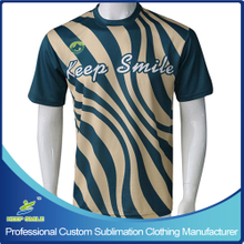 Custom Sublimation Boy's Lacrosse Short Sleeve Shooter