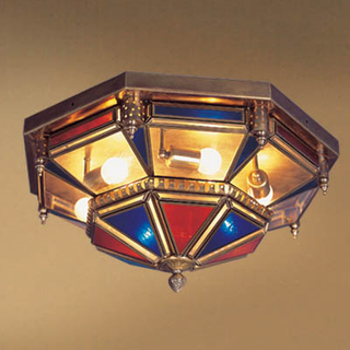 Arabian&Islamic style ceiling lamp with antique bronze finish (CN6 )