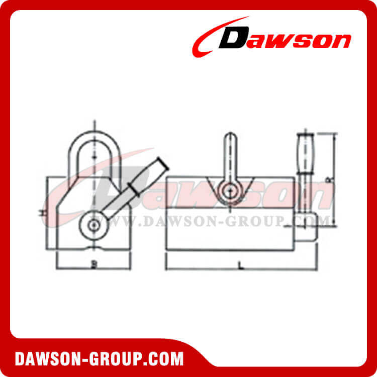 PERMANENT MAGNETIC LIFTER DAWSON-GROUP