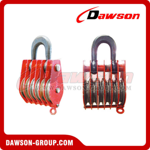 DSPB-F6 Rings Series Closed Six Wheels Pulley