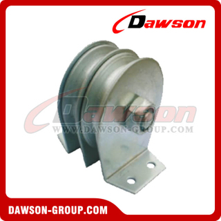 DS-B189 Flat Mount Block Double Sheave