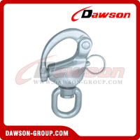 Stainless Steel Swivel Snap Shackle with Round Head