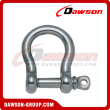 Stainless Steel European Type Bow Shackle