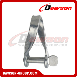 Stainless Steel Plate Twist Shackle