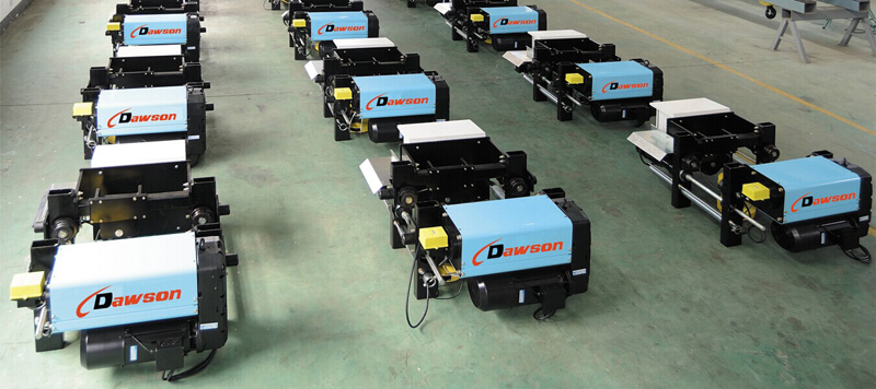 Single Girder Electric Hoist Dawson Group Ltd. - China Manufacturer, Supplier, Factory, Exporter