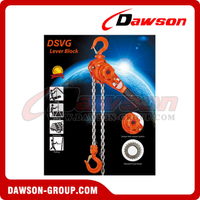 DSVG Lever Block, Manual Lever Hoist for Lifting Goods