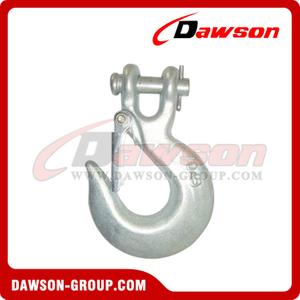 DS127 A-331 G70 Grade 70 Forged Clevis Slip Hook, H-331 G43 Grade 43 Forged Clevis Slip Hook with Latch for Lashing