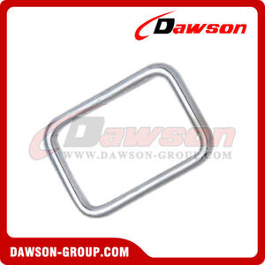 Stainless Steel Square Hook Zinc Plated