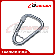 Stainless Steel Delta Snap Hook with Screw and Bar