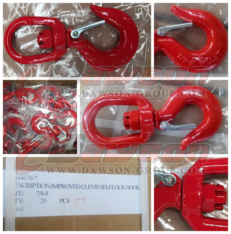 Improved Clevis SelfLocking Hook - Dawson Group Ltd. - China Manufacturer, Supplier, Factory