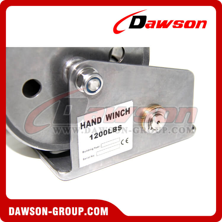 1200Lbs Stainless Steel Hand Winch - Dawson Group Ltd. - China Manufacturer Supplier, Factory