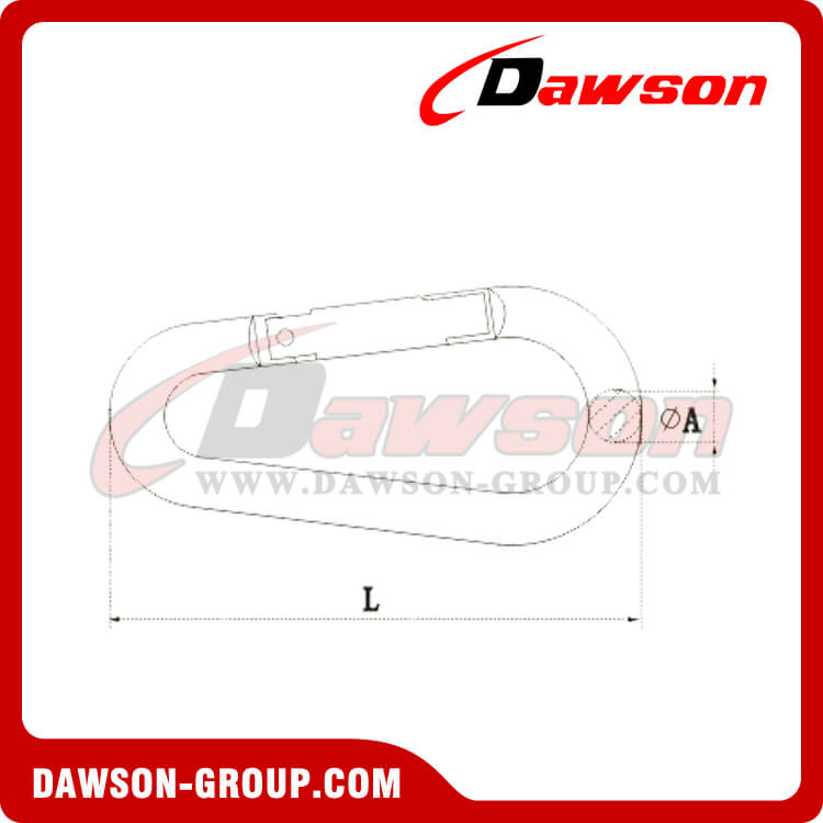 ALUMINUM SNAP HOOK EGG TYPE DAWSON-GROUP - Dawson Group Ltd. - China Manufacturer, Supplier, Factory, Exporter