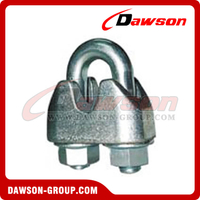 Din 1142 Galv. Malleable Wire Rope Clip