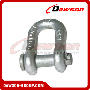 Forged Alloy Dee Shackles with Round Pin