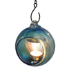 Solid Color Glass Candle Holder with Hook