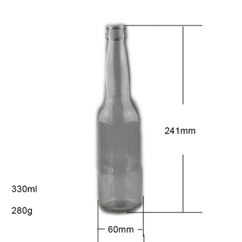330ml Glass Beer Bottle