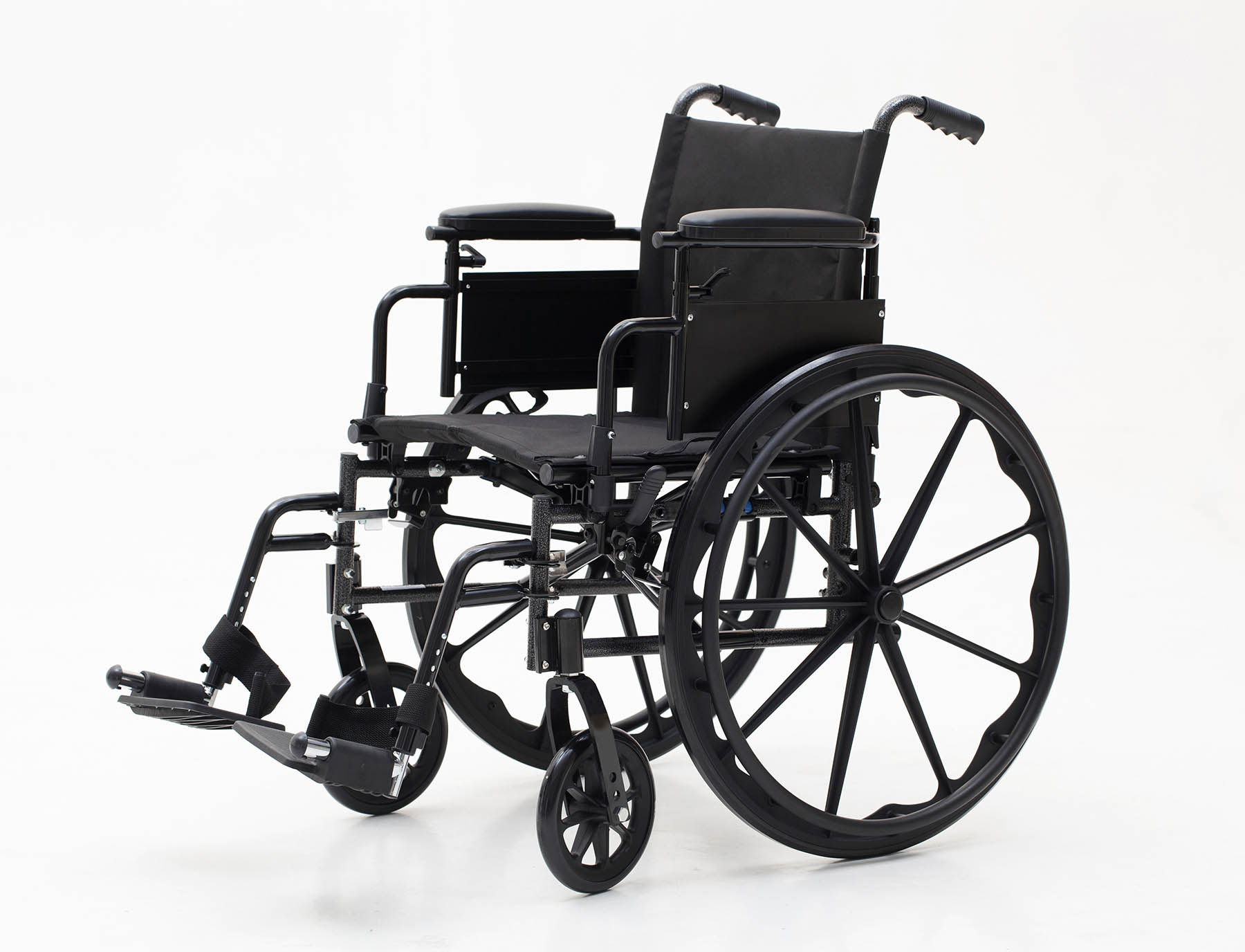 YJ-K401-1 Functional Steel Manual Wheelchair