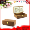 Black Croc Leather MDF wood cigar case box