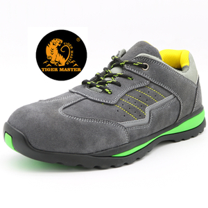 Oil Acid Resistant Rubber Sole Non Safety Sport Work Shoes