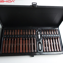 40 PC Hex Torx Spline impact bit set