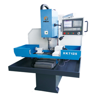 XK7125 Industrial Grade 3 Axis Cnc Milling Machine with Servo Drive