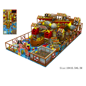 Comfortable plastic indoor playground equipment