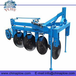 Tractor implements hydraulic disc plough