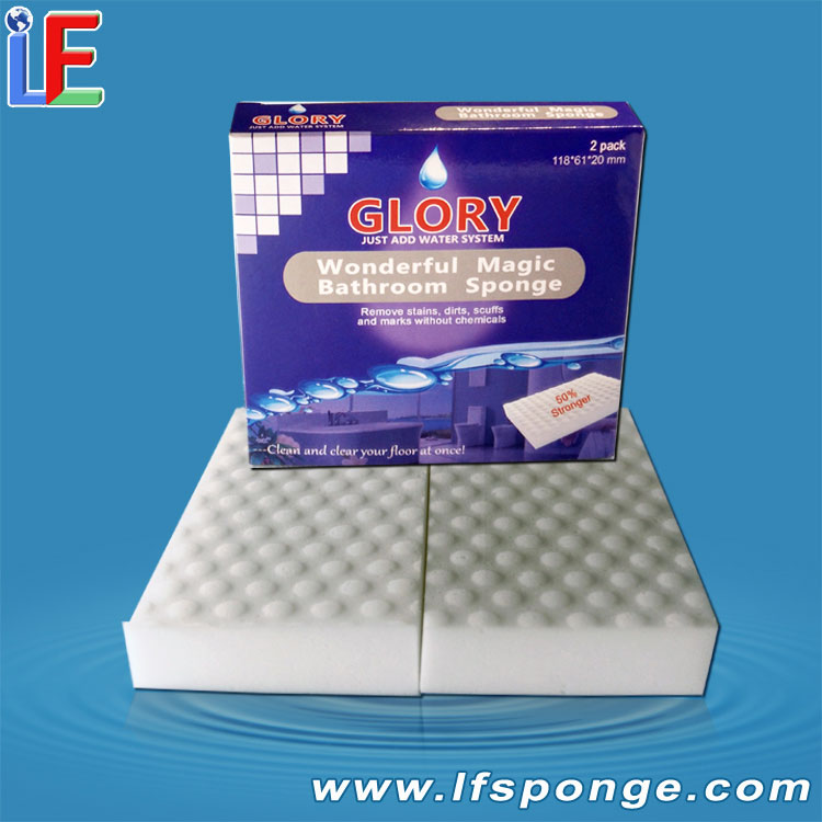 Oem Melamine Sponge Compressed Magic Melamine Sponge On