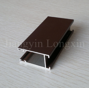 Bronze Anodized Aluminium Profile for Windows