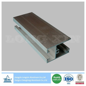 Silver Anodizing Aluminium Extrusion for Window Frame