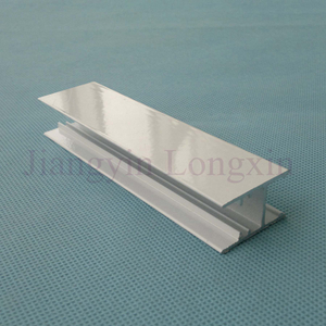 White Powder Coating Aluminium Profile for Windows
