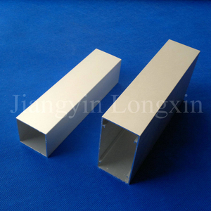 Sliver Anodized Aluminium Profile for Windows, Squared