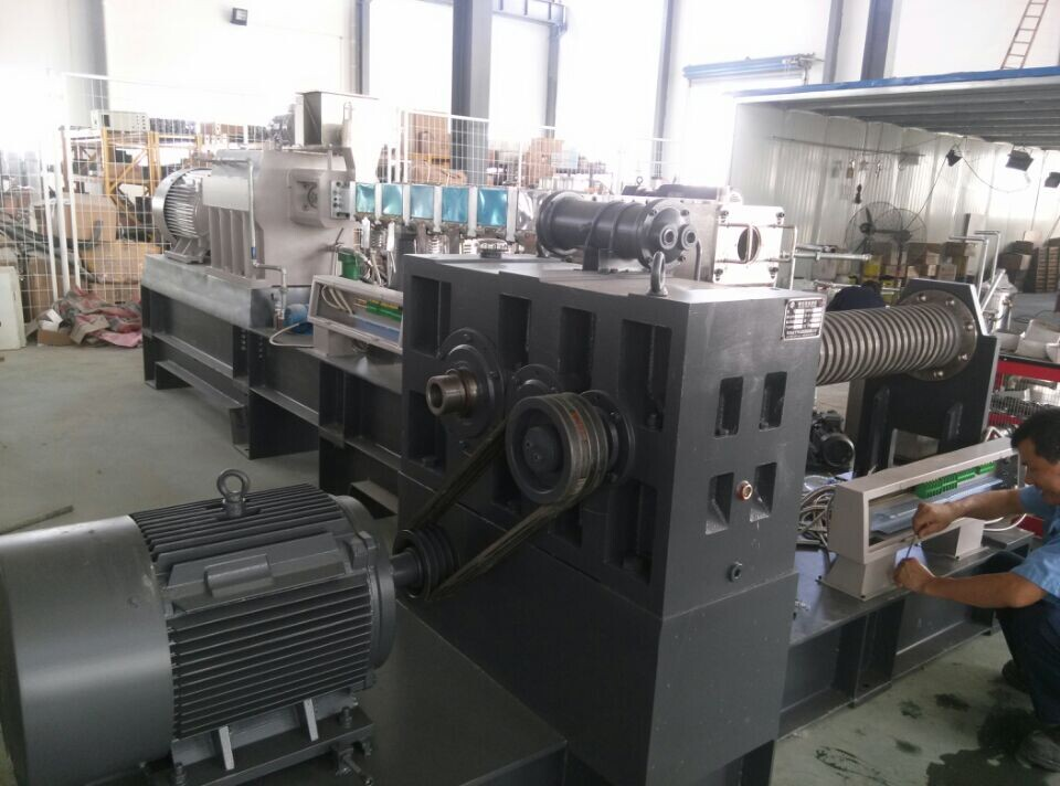 TSE-65A Black Masterbatch Extruder Plastic Compound Machine