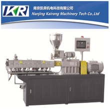 PP/PE plastic compounding water cut mini/lab twin screw extruder