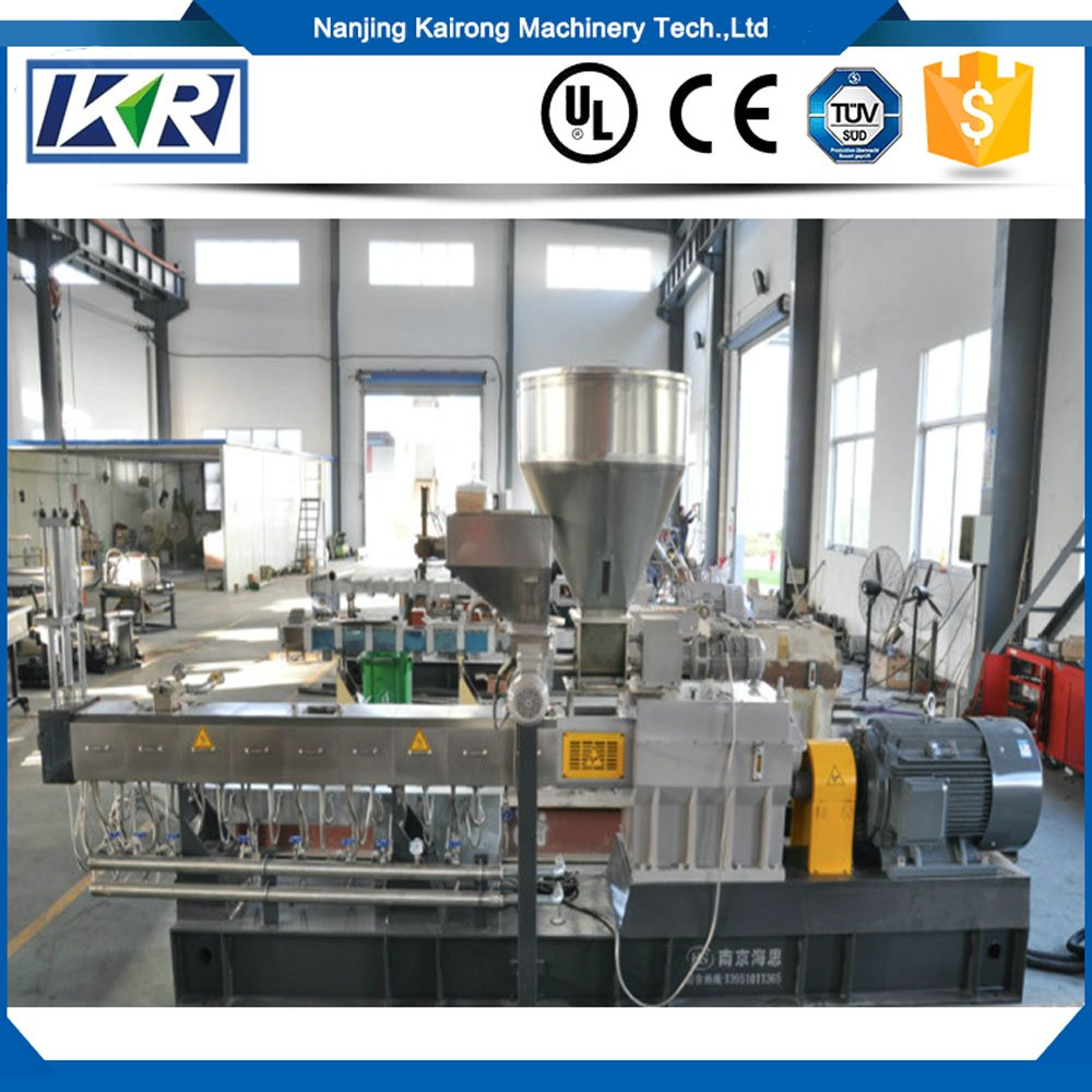 Biodegradable Starch Granule Twin Screw Extruder Plastic