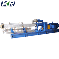 Plastic Filler Masterbatch Twin Screw Extruder Masterbatch Making Machine Plastic Compound Machine