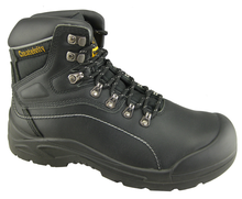 0143 full grain leather work safety boots