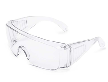 CE EN 166F PC lens protective Safety glasses
