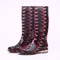 New collection shiny ladies pvc rain boots