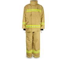 Fire fighting Suit with flame retardant and waterproof EN standard fabric