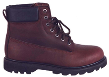 97023 oil full grain leather mining safety shoes