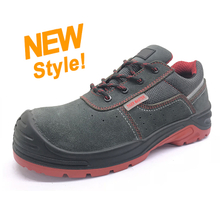 ENS008 suede leather anti static kevlar mid sole european work shoes