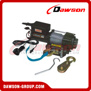 DS-KDJ-3000H DS-KDJ-3500H 3000lbs 3500lbs 12V DC Electric Winch with CE Approval for Truck