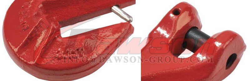 G80 Clevis Grab Hook with Safety Pin For Lifting