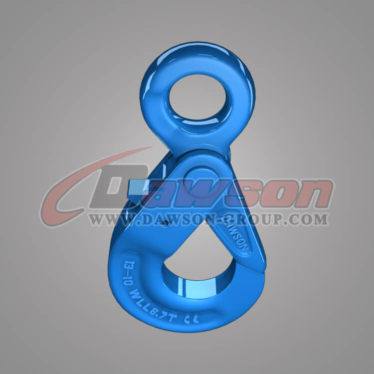 Grade 100 European Type Eye Self-Locking Hook, Alloy Steel Hook for G100 Chains - China Manufacturer