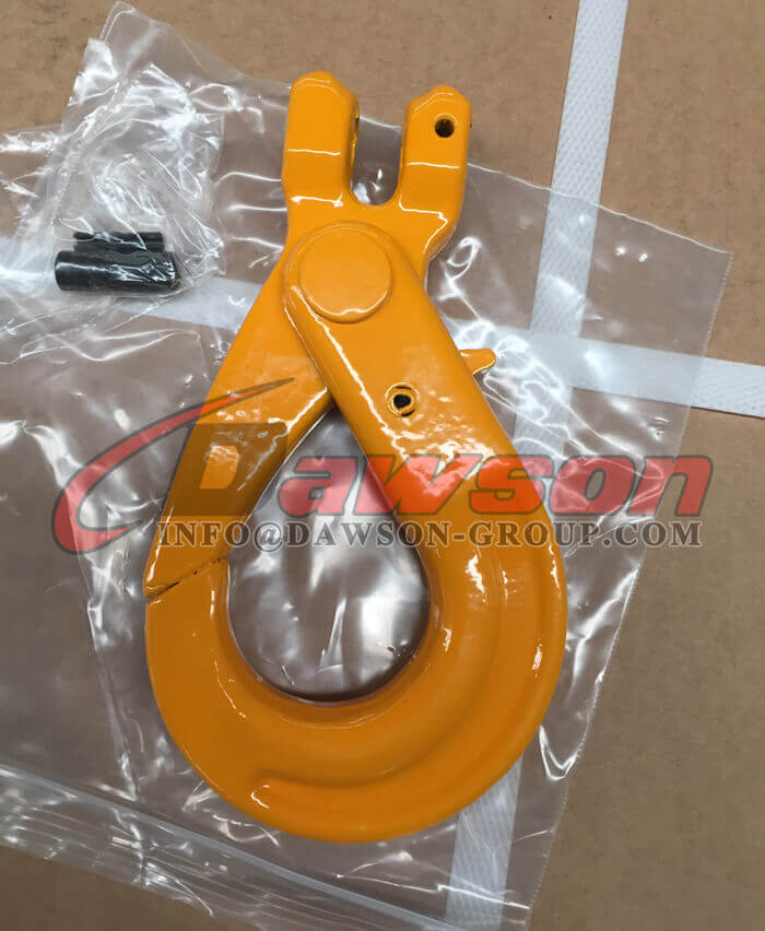 G80 European Type Clevis Self-Locking Hook for Lifting Chain Slings - Dawson Group Ltd. - China Supplier, Exporter